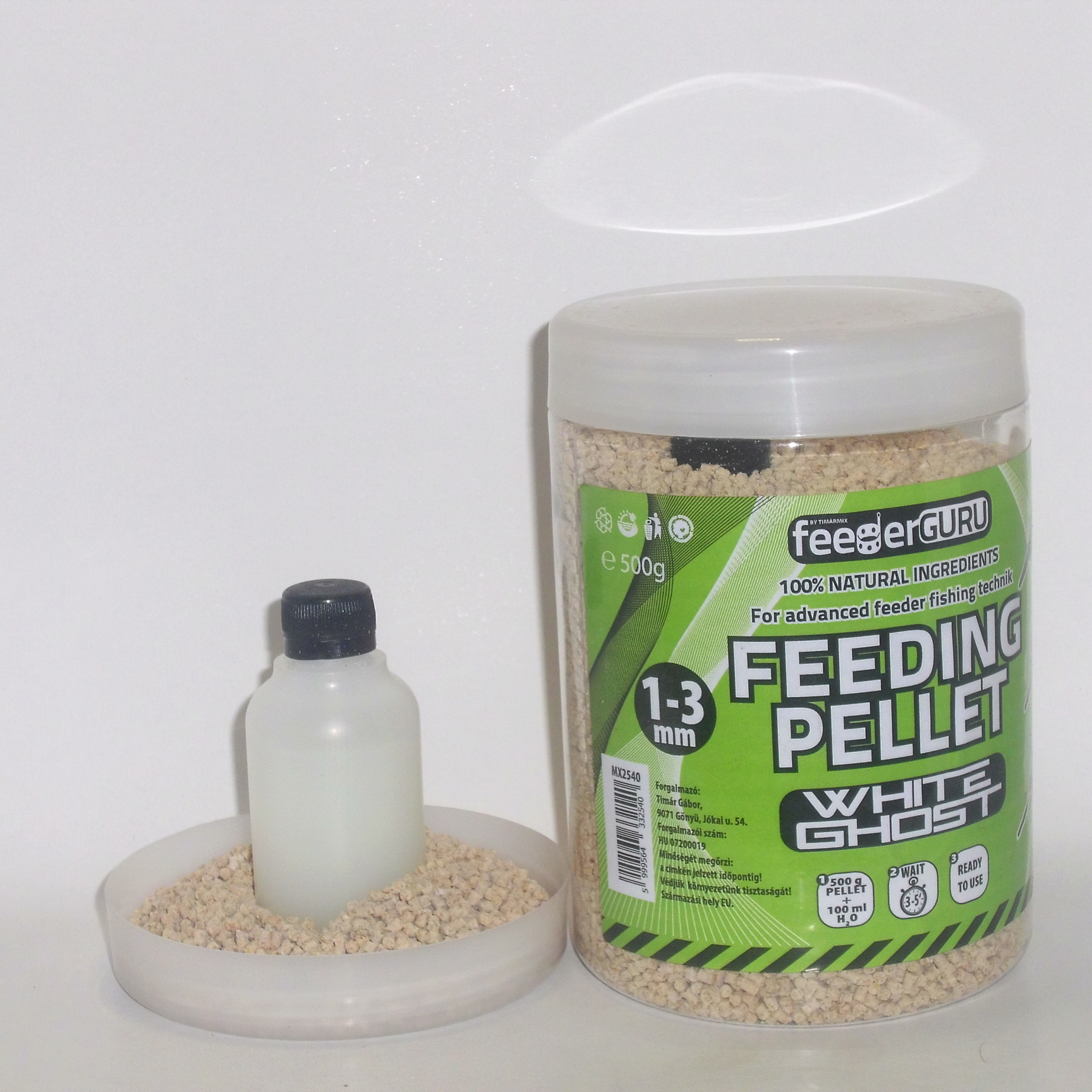 FG pelety 500g White Ghost