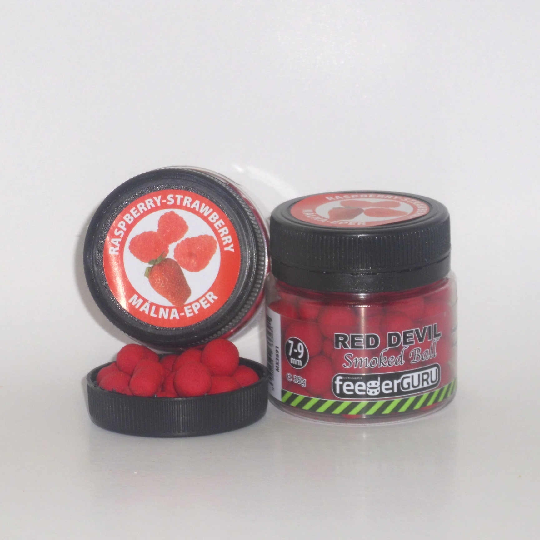 FG Smoked Balls 7-9 mm 35g Red devil